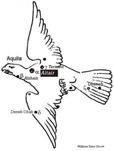 De kernmythe van het BAG, de constellatie Aquila of wel de Adelaar